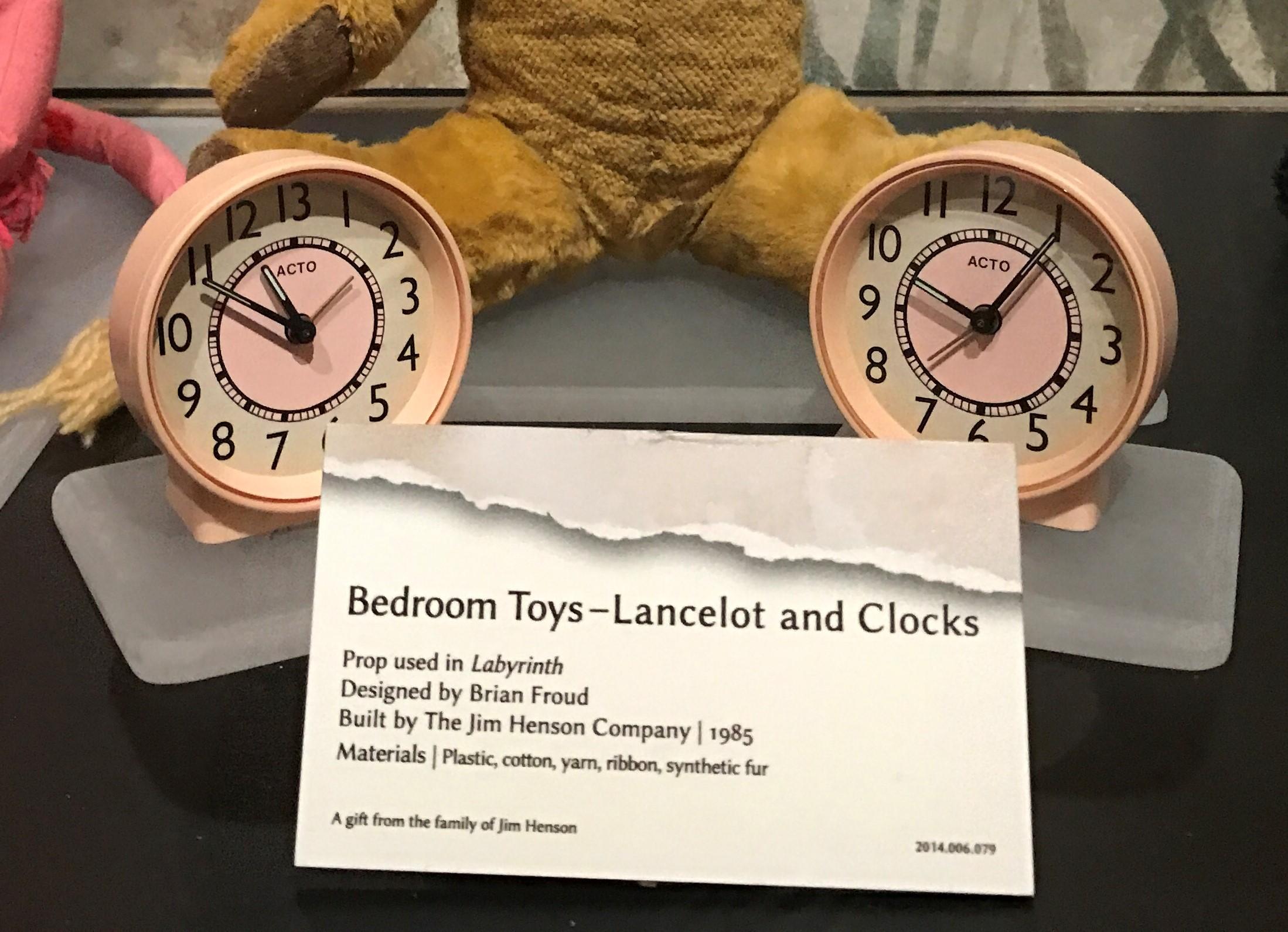 CRAFT: 13 Hour Alarm Clock (Jim Henson's Labyrinth
